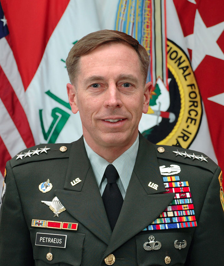 Now ex-CIA Director, General Petraeus